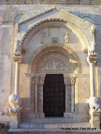 il portale del lato nord
